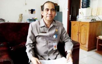 Plt Kepala Dinas Pendapatan Daerah Lamandau, Abisua. BORNEONEWS/HENDI NURFALAH