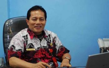 Kepala Dinas Kependudukan dan Catatan Sipil Barito Utara, Ledianto. BORNEONEWS/RAMADANI