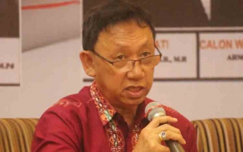 Ketua Bawaslu Kalteng, Theophilus Y Anggen BORNEONEWS/FAHRUDIN FITRIA