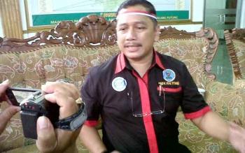 Kepala BNNP Kalteng, Kombes Pol Sumirat Dwiyanto. BORNEONEWS/BUDI YULIANTO