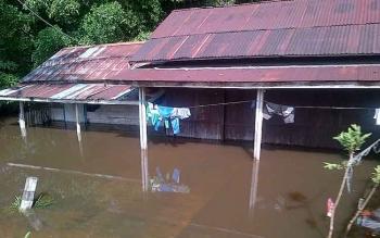 Kondisi pemukiman penduduk di Desa Mahajiandau saat ini