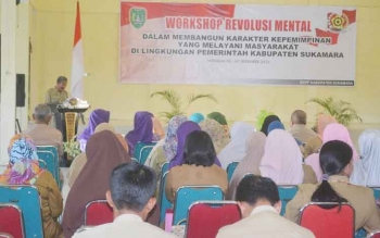 95 ASN Sukamara Ikuti Workshop Revolusi Mental