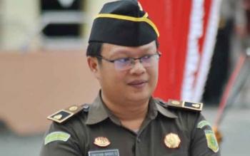 Kasi Intel Kejaksaan Negeri Pulang Pisau Cahyana Bagus Sugiarta. BORNEONEWS/JAMES DONNY