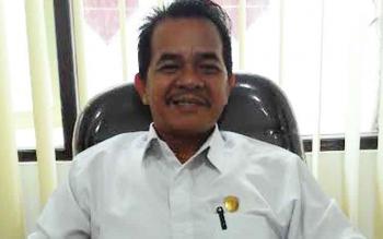 Ketua Komisi A DPRD Kota Palangka Raya Riduanto. BORNEONEWS/TESTI PRISCILLA