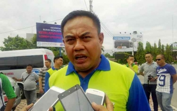 Direktur Lalu Lintas Polda Kalteng Kombes Pol M Taslim Chairuddin. BORNEONEWS/BUDI YULIANTO