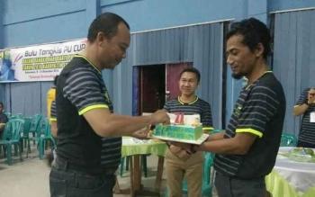103 Peserta Meriahkan Turnamen Bulutangkis PU Cup di Sukamara