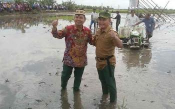 Menteri Pertanian Sanjung Kegigihan Gubernur Kalimantan Tengah
