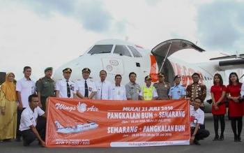 Wings Air Tergelincir, Rute Pangkalan Bun - Semarang Aman
