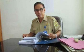 Tito Andreas, Kabag Kesejahteraan Rayat dan Kesejahteraan, Setda Kabupaten Gunung Mas. (FOTO EPRA SENTOSA)