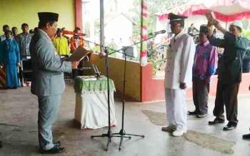 Bupati Tenglie Disambut Antusias Warga Bangun Jaya dan Kampung Tengah