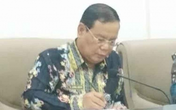 Sekretaris Daerah Barito Utara, H. Jainal Abidin. BORNEONEWS/RAMADANI