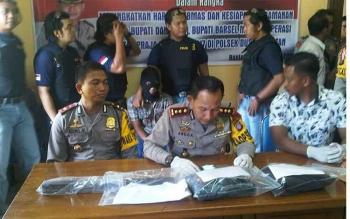 Kapolres Barito Selatan AKBP Yussak Angga. BORNEONEWS/URIUTU