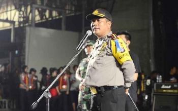 Kapolres Barito Utara AKBP Roy HM Sihombing SIk