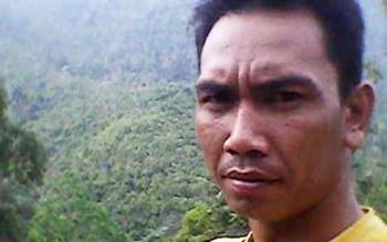 FADLI, warga Muara Teweh, Kabupaten Barito Utara. (BORNEO/RAMADHANI)