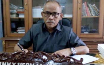 Ketua DPRD Lamandau, Tommy Hermal Ibrahim. BORNEONEWS/HENDI NURFALAH