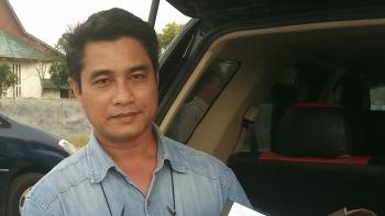 Praktisi hukum senior di Kalimantan Tengah, Rahmadi G Lentam. BORNEONEWS/RONI SAHALA