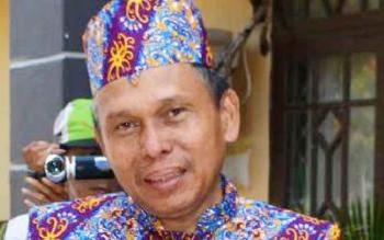 Kepala Dinas Tenaga Kerja dan Transmigrasi Kabupaten Murung Raya, Syahrial Pasaribu. BORNEONEWS/SUPRI ADI