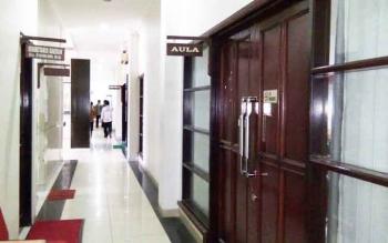Aula Setda Murung Raya, gedung A tempat berlangsungnya rapat tertutup mengenai persiapan STQ tingkat Provinsi Kalimantan Tengah 2017, Kamis (5/1/2017). BORNEONEWS/SUPRIADI