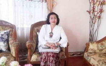 Rayaniatie - Anggota DPRD Gunung Mas. BORNEONEWS/EPRA SENTOSA