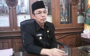 Pejabat Bupati Barito Selatan Mugeni. BORNEONEWS/URIUTU DJAPER