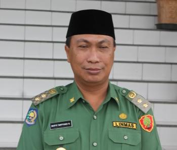 Mofit Saptono Subagio - Wakil Walikota Palangka Raya. BORNEONEWS/ROKIM