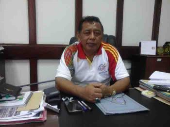 Sekretaris Daerah (Sekda) Kabupaten Seruyan, Haryono. BORNEONEWS/PARNEN