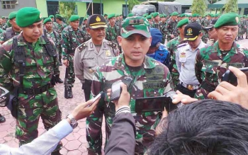 Dandim 1014/Pbn Letkol Inf Wisnu Kurniawan BORNEONEWS/KOKO SULISTYO