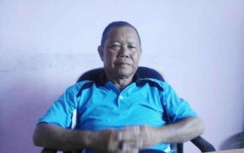 Kepala Bidang Perdagangan Disperindapkop UMKM Seruyan, Suling. BORNEONEWS/PARNEN