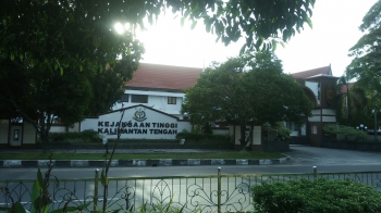 Kantor Kejaksaan Tinggi Kalimantan Tengah (Kejati Kalteng). BORNEONEWS/RONI SAHALA
