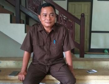 Anggota DPRD Barito Timur Embut BORNEONEWS/AMAR ISWANI