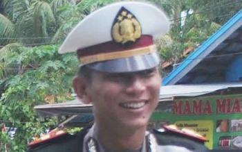 Kasatlantas Polres Murung Raya (Mura), Iptu M Syafuan BORNEONEWS/SUPRI ADI