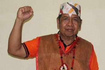 JONIO SUHARTO : Ketua DAD Barito Utara. BORNEONEWS/RAMADHANI