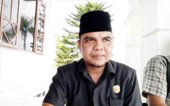 Ketua Komisi II DPRD Lamandau, HM. Gujaliansyah. BORNEONEWS/HENDI NURFALAH