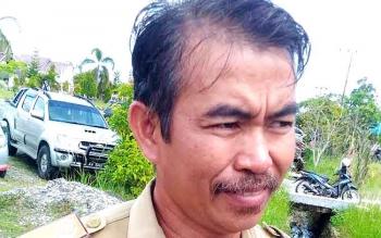 Ido Unan : Kepala Desa Hurung Bunut. BORNEONEWS/EPRA SENTOSA