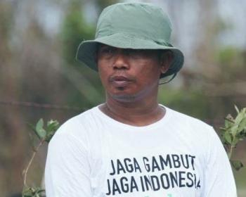 Direktur Eksekutif Save Our Borneo, Nordin. BORNEONEWS/M ROZIQIN