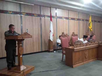 Ketua Komisi II DPRD Kotim Abdul Kadir dalam kegiatan di DPRD, beberapa waktu lalu. BORNEONEWS/DOK