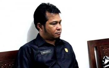 Ketua DPRD Pulang Pisau Maruadi. (BORNEO/JAMES DONNY)