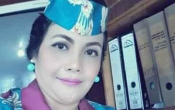 Komisioner KPU Barito Selatan Sari Sahayanie. (BORNEONEWS/URIUTU)