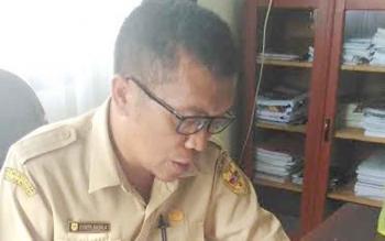 Osner Sagala : Sekretaris BPMPD Gunung Mas. BORNEONEWS/EPRA SENTOSA