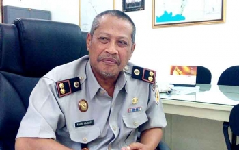 Kepala BPN Kabupaten Kapuas, Kahar Pranoto. BORNEONEWS/DJEMMY NAPOLEON
