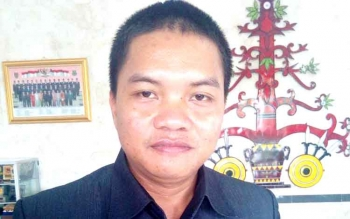 Anggota DPRD Kapuas, Berinto. BORNEONEWS/DJIMMY N