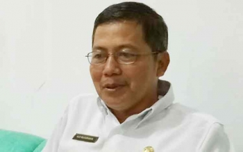 Kepala Dinas Perpustakaan dan Kearsipan (DPK) Sukamara, Aji Nugraha. BORNEONEWS/NORHASANAH
