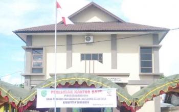 Bank BPR Artha Sukma Sejahtera merupakan salah satu bank penyumbang PAD Sukamara.BORNEONEWS/NORHASANAH