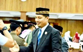 Anggota DPRD Kotawaringin Barat, Tuslam Amirudin.