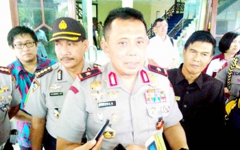 Kapolda Kalteng Brigadir Jenderal Anang Revandoko. (BORNEONEWS/BUDI YULIANTO)