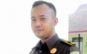 Kasi Pidana Umum Kejaksaan Negeri Kuala Kapuas, Aryo Wicaksono. BORNEONEWS/DJEMMY NAPOLEON