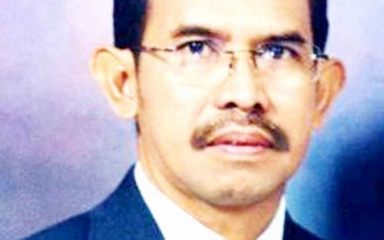Kepala Dinas Pendidikan Kabupaten Barito Utara Masdulhaq. (BORNEONEWS/RAMADHANI)