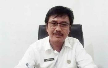 Sekertaris Dinas Kesehatan Kabupaten Kapuas Apendi. (BORNEONEWS/DJIMMY NAPOLEON)