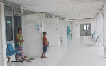 Pelayanan kesehatan salah satu penyumbang terbesar Pendapatan Asli Daerah (PAD) Kabupaten Sukamara. BORNOENEWS/NORHASANAH