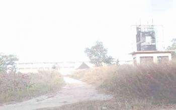 Inilah salah satu kawasan di Sport Center, Sampuraga Baru yang kerap dijadikan tempat mesum pasangan remaja. BORNEONEWS/KOKO SULISTIYO